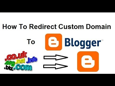 How to use a custom domain name on blogger