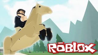 Roblox Adventures / Horse Valley / Racing Horses in Roblox!