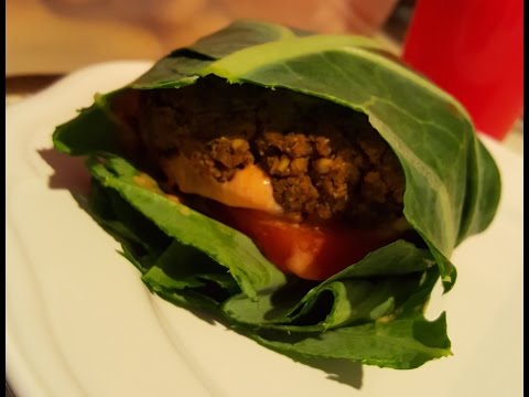 Black bean and Chickpea Burger