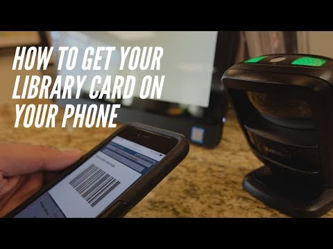 How To Get Your Westbank Library Card On Your Phone