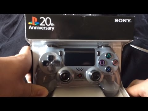DUALSHOCK 4 Wireless Controller - 20th Anniversary Edition Unboxing