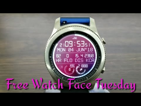 Gear S3 Free Watch Face Tuesday A Must See Video