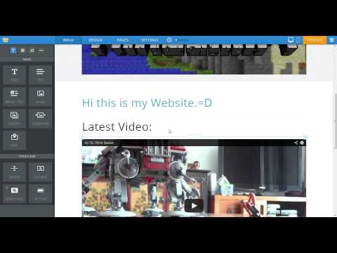 How to put games on weebly.
