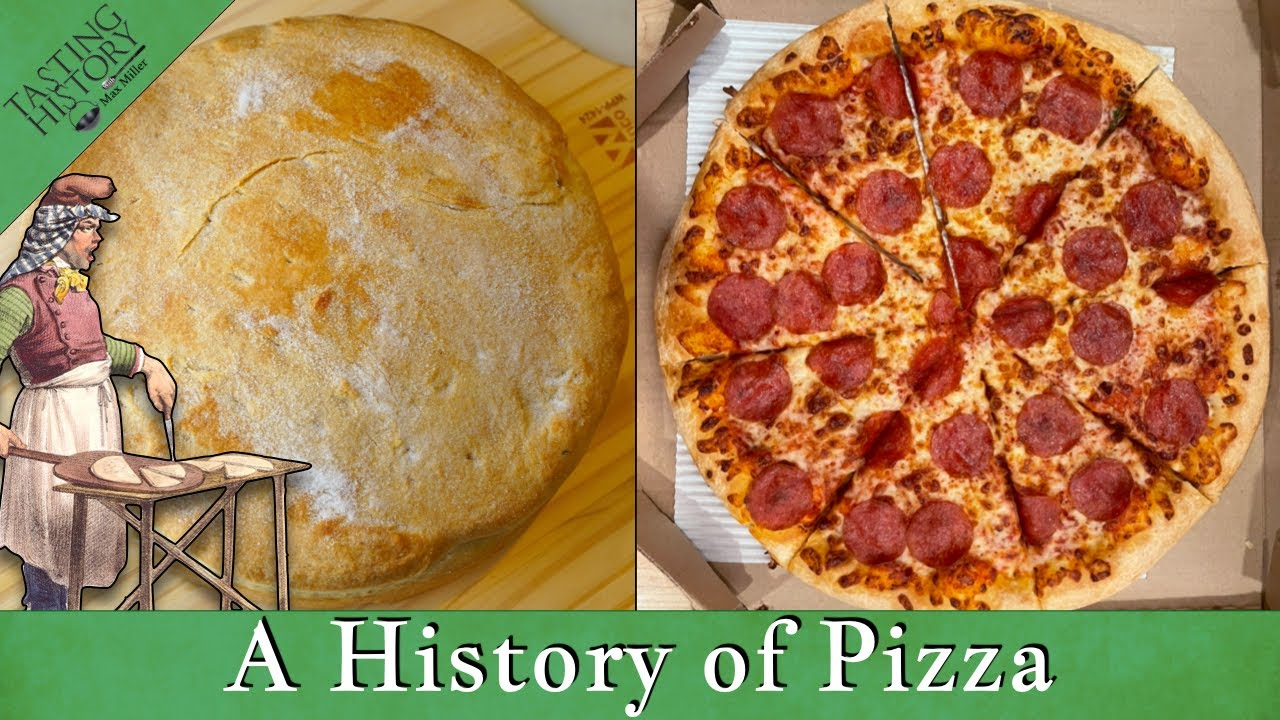 500 Year-Old Pizza VS Today