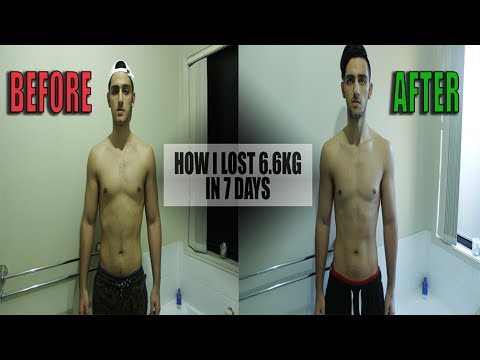 7 Day Water Fasting Challenge - (UNBELIEVABLE RESULTS)
