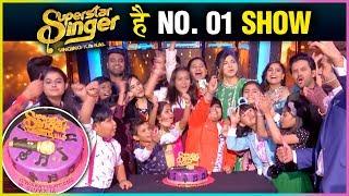 Superstar Singer Becomes NO.1 On TRP Ratings | Grand CELEBRATION Video | Jay Bhanushali