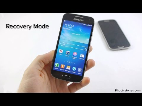 Android recovery mode in Samsung Galaxy S4