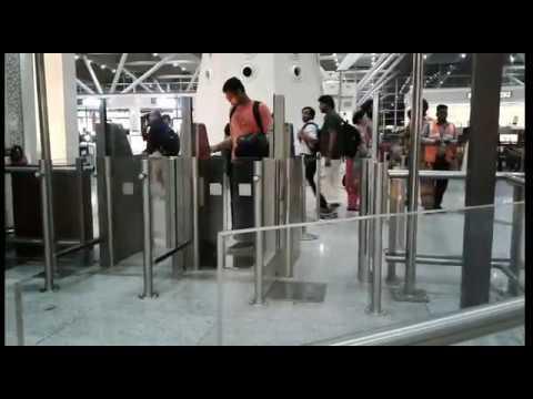 Indira Gandhi International Airport - Final Check Towards Departure Lounge
