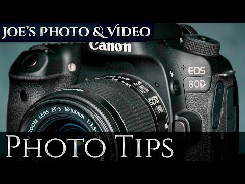 Canon EOS 80D: How To Set A Custom White Balance - Photography Tips
