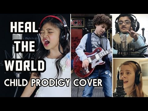 Michael Jackson Tribute - Heal The World - Child Prodigy Cover   Maati Baani