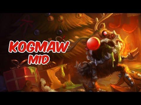 Kog'Maw Mid vs Yasuo - Diamond - Season 5 - Patch 5.14