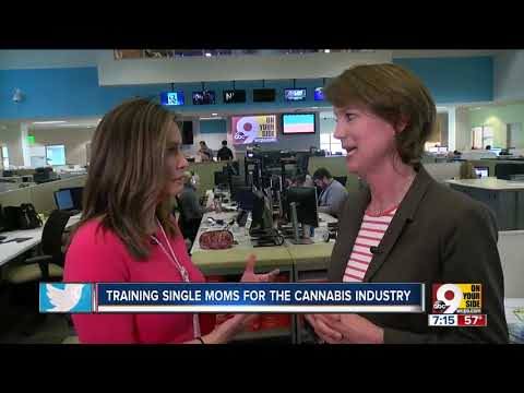 Training single moms for the cannabis industry