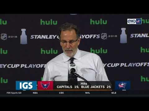 John Tortorella: Columbus 'laid an egg' in Game 4 | BLUE JACKETS-CAPITALS POSTGAME
