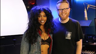SZA BBC Radio 1 Interview with Huw Stephens