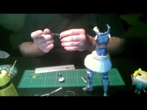 Lux Speedbuild papercraft - League of Legends