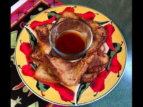 Eggnog French Toast (Copper Chef)