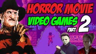 Horror Movie Video Games Part 2   MichaelBtheGameGenie