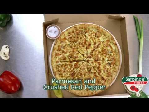 Sorrento Delight Pizza - Sarpino's Pizzeria Video