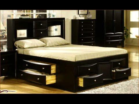 King Size Bed Frame With Drawers Ideas