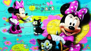 Disney Puzzle Games Minnie Mouse Ravensburger Rompecabezas Learn Play Jigsaw Puzzles