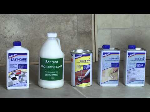 How to seal Terracotta Limestone and Natural Stone Tiles.