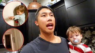 We Hear Something SUPER Creepy In Our New House!!