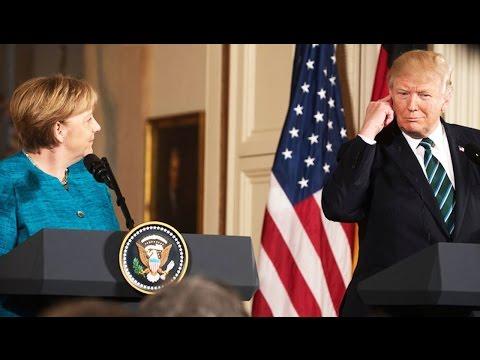 Merkel Had To Explain EU Trade To Trump ELEVEN TIMES