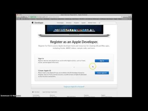 How to get an Apple ID and Enroll in a Developer Account