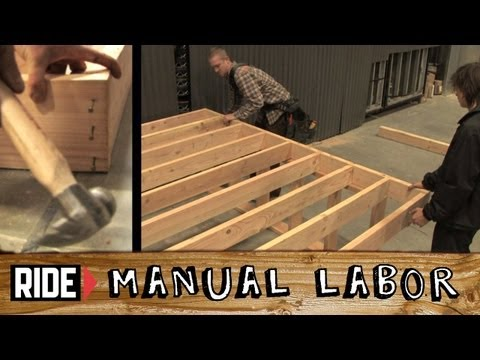 How-To Build a Skatepark - Deck Part 1: Stage - Manual Labor