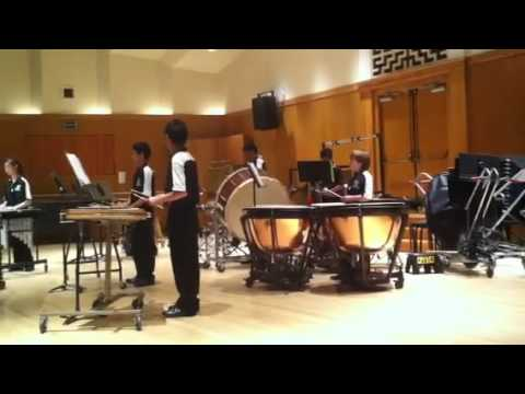 Redwood Percussion Ensemble cmea 2011