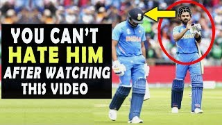 Virat Kohli ● Do you HATE him ?? Ok .. Watch this Video ● You will change your opinion ● Respect