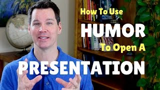 How to Use Humor in a Speech Opening