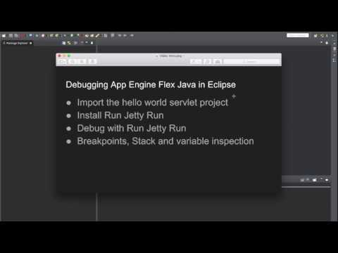 Debugging App Engine Flex Java Project in Eclipse