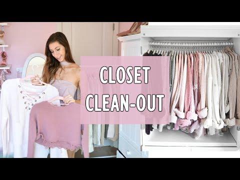CLOSET CLEANOUT & WARDROBE TOUR // Sweaters & Bralettes // Closet of a Fashion Blogger