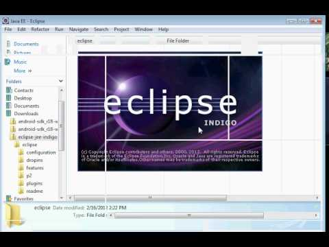 Eclipse Android SDK and ADT download and install