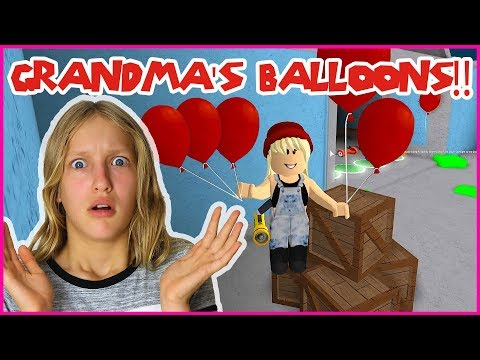 Creepy Balloons at Grandma's House!