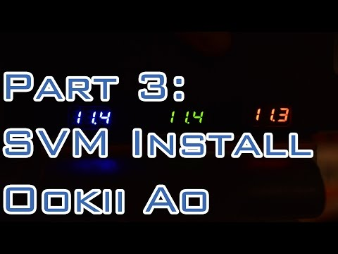 Project Ookii Ao - Road to 500 - Part 3 SVM