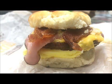 Burger King Fully Loaded Biscuit Review