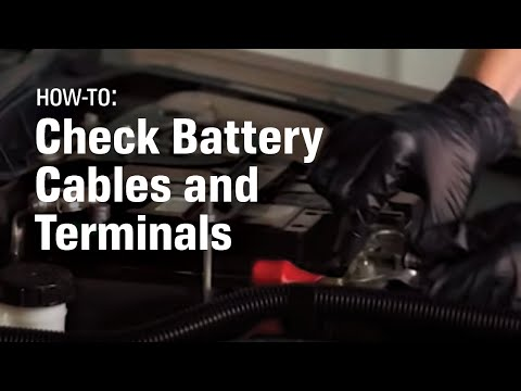 How to Check and Replace Your Car's Battery Cable and Terminal Ends - AutoZone Car Care