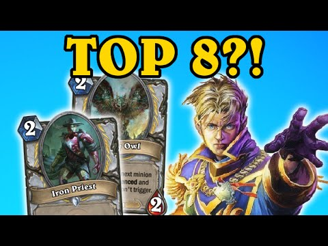 Top 8 New PRIEST Cards - (Pc Gamer Hearthstone Competition)