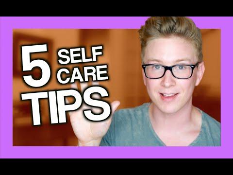5 Easy Self-Care Tips | Tyler Oakley
