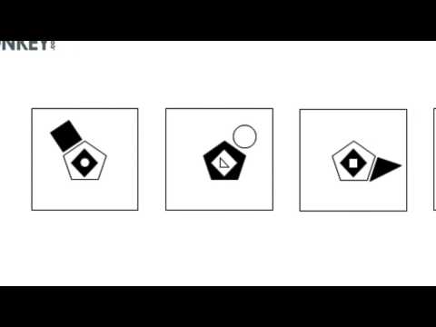 Logical Reasoning Tutorial - shapes that swap their positions across adjacent figures
