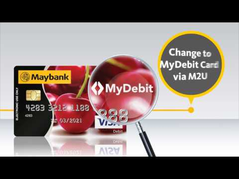 5 Easy Steps to Change your MyDebit Card via Maybank2u