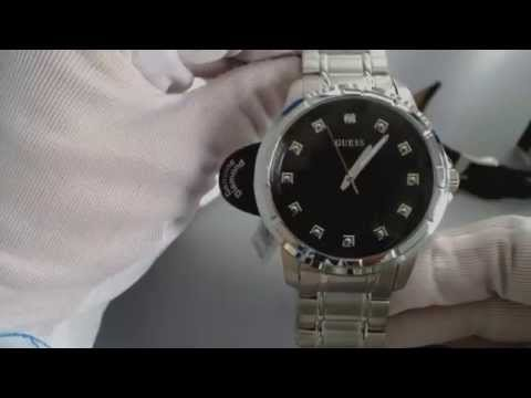 Men's Guess Diamond Accent Interchangeable Watch Set U0518G1