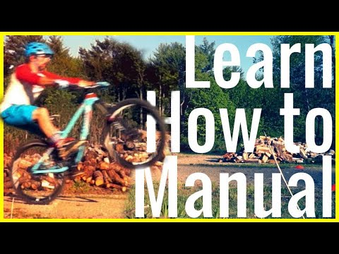 How to manual a mountain bike Tutorial | Skills with Phil