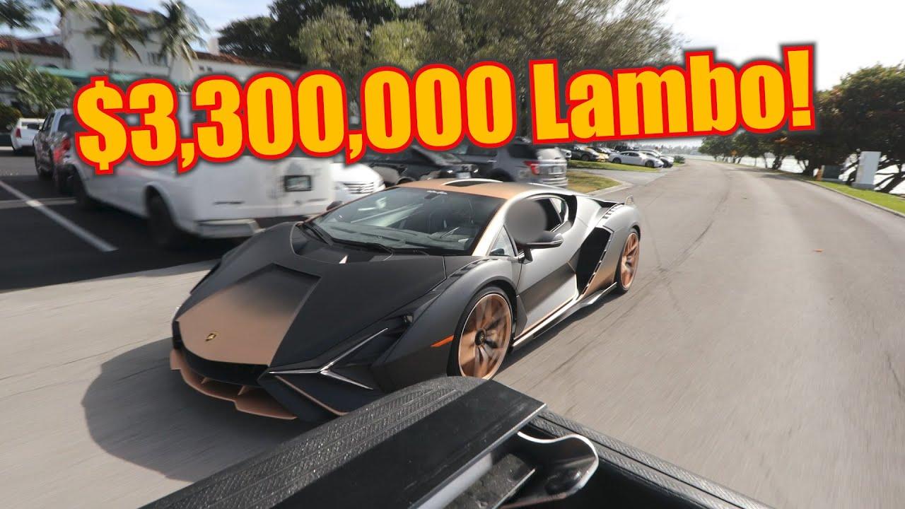 Mexico City's Secret Hypercar Collection ft. the $3,300,000 Lamborghini Sian