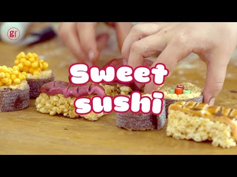 How to make candy sushi 🍣🍬- BBC Good Food Kids
