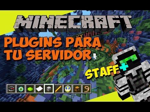 Minecraft: Plugins para tu Servidor - Staff+ (Administra y Modera tu Server)