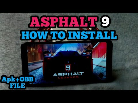 how to install asphalt 9 legends on android (no country restriction)