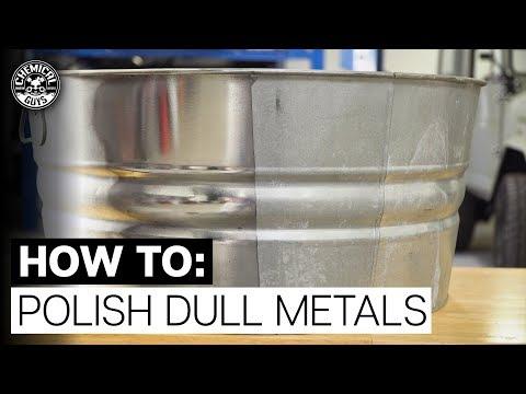 How To Polish DULL, Oxidized Metal! *Heavy Metal Polish* - Chemical Guys!